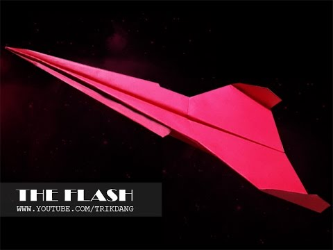 Paper Airplane Instructions: How to make a paper plane that FLIES | Flash