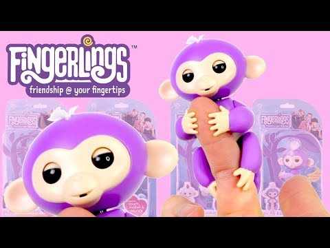 Fingerlings Baby Monkeys Unboxing Review