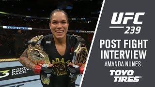 UFC 239: Amanda Nunes -