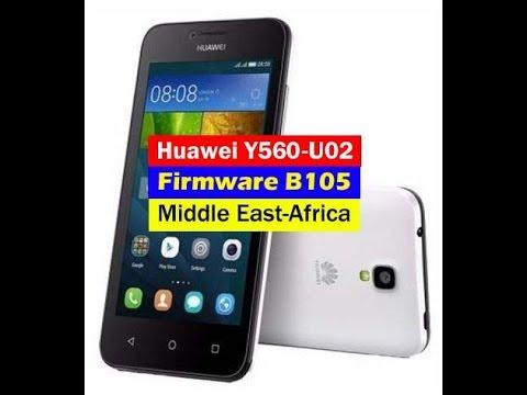 Huawei Y560-U02 firmware update B105 middle east