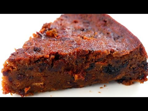 Sorrel Fruit Cake/ Black Cake/ Rum Cake | Taste of Trini