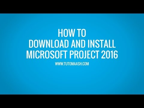 Download and Installation Microsoft Project 2016 Trial   MS-Project Online Tutorial -Tutomaash.com