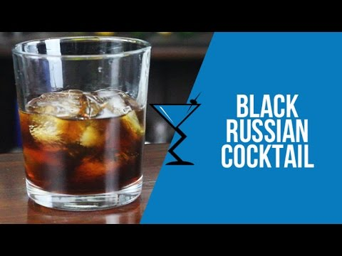 Black Russian Cocktail - How to make a Black Russian Cocktail Recipe by Drink Lab (Popular)