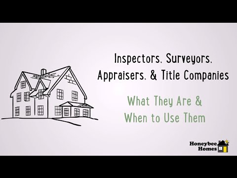 Understanding House Inspectors, Appraisers, Surveyors, and Title Companies in Grand Rapids. MI