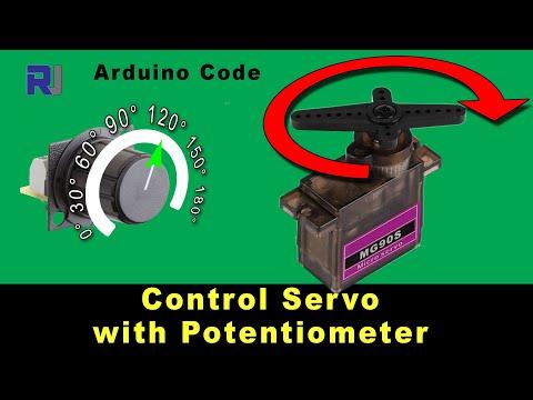 Control Servo Motor with Potentiometer using Arduino
