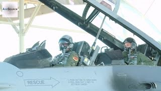 F-16 Student Pilots Prepare to Takeoff