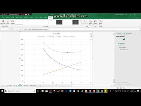 calculate by using equation and plot graph : excel 2018 part 2