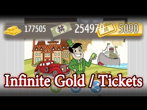 Adventure Capitalist 5.0.1 - Free Gold, MegaBucks, Tickets every 30 second - Mod APK