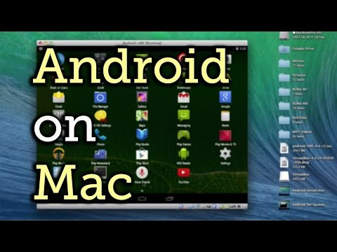 Run Android 4.4.2 KitKat & Any Android App in Mac OS X [How-To]