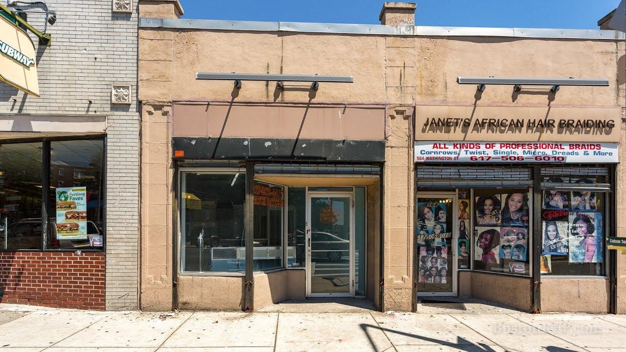 562 Washington St, Dorchester MA - James Harrison - Tel 617-784-8635