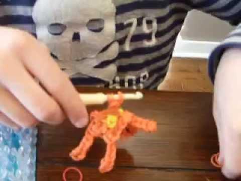 Rainbow Loom Charmander Video