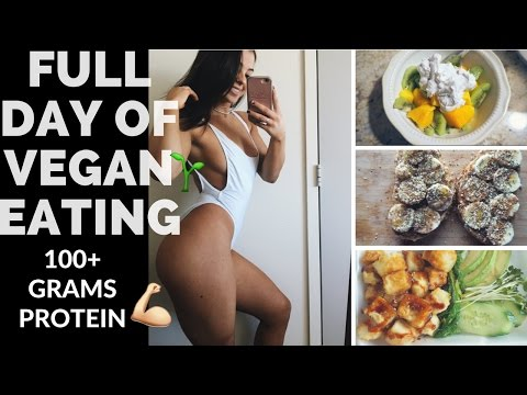 Vegan Full Day of Eating | Building Muscle