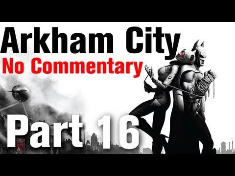 Batman Arkham City Walkthrough Part 16 - Museum - Finding Penguin's Disruptors