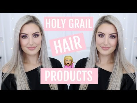HOLY GRAIL HAIR CARE PRODUCTS | BLEACHED BLONDE HAIR!!