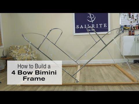 How to Build a 4 Bow Bimini Frame