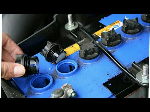 battery water level कहीं आपके इन्वर्टर बैटरी को पानी की जरूरत तो नहीं हैअगर है तो क्या करे