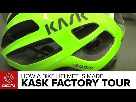 How A KASK Bike Helmet Is Made