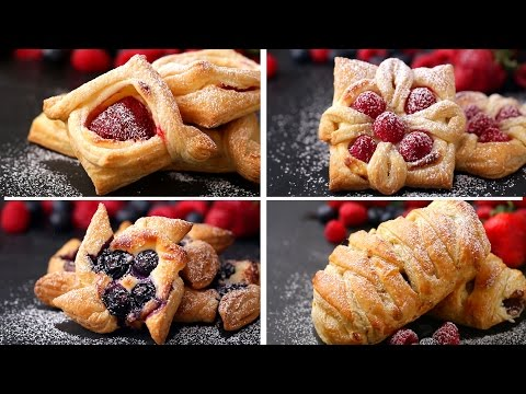 Puff Pastry 4 Ways