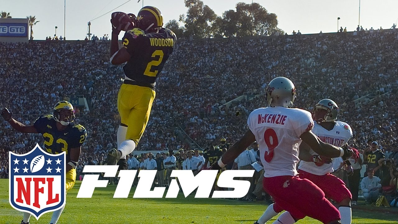 Charles Woodson Becomes Only Defensive Player to Win the Heisman   NFL Films   A Football Life