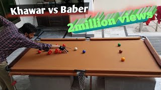 home made snooker table