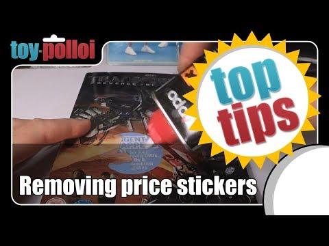 Quick Fix - Removing Price Stickers