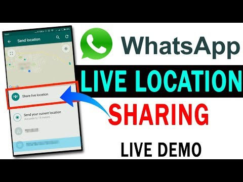 WhatsApp UPDATE: How To Use Live Location Sharing Feature With Live Demo(HINDI/URDU)