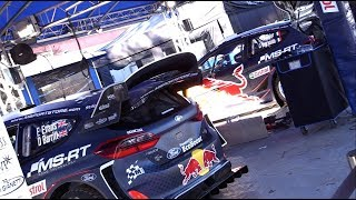 Rallye Monte-Carlo 2018 - Service Park - All WRC cars [HD]