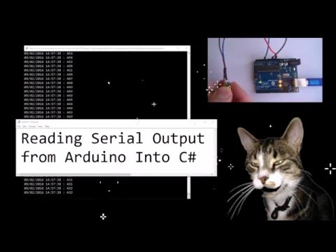 Reading Serial Output from Arduino into C# Console Application by Cosmo Cat