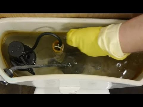 How to Get Rust Out of a Toilet Tank From Well Water : Toilet Repairs