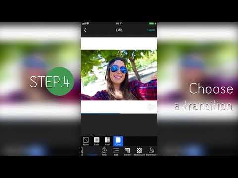 PhotoGrid-How to make a photo slideshow?
