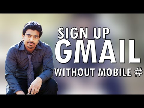 How to Sign Up Gmail Without Mobile Number In Urdu and Hindi