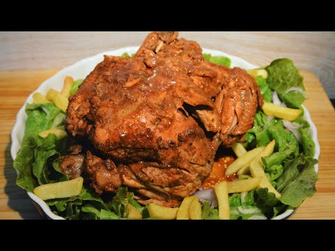 [Mauritian Cuisine] Easy Stovetop Pot Roasted Whole Chicken | Rôti Poulet