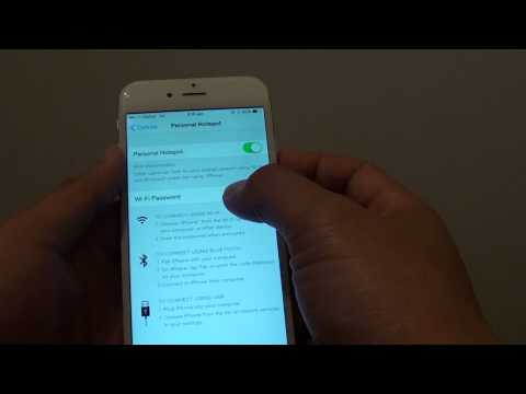 iPhone 6: How to Enable / Disable Personal Hotspot