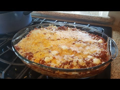 Baked Spaghetti Casserole The Easy Way (Look)