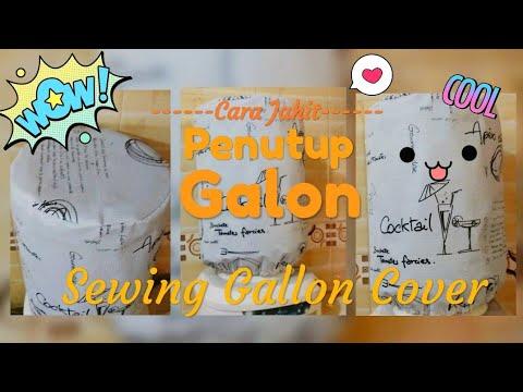GALLON COVER UP / Cara Jahit PENUTUP GALON
