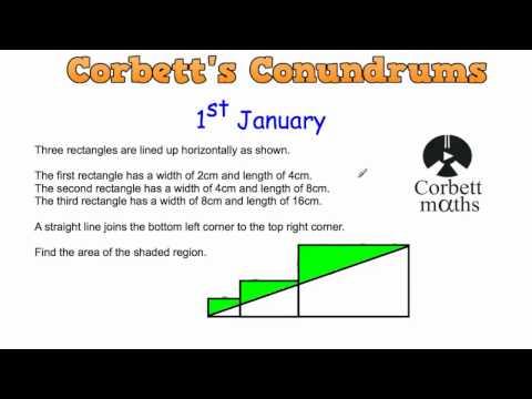 Corbett's Conundrum - 1st January