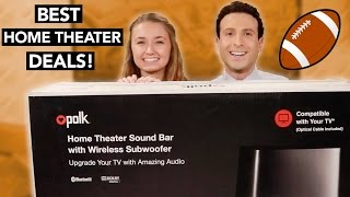 Top Home Theater Deals for 2017- Get it for the Super Bowl!