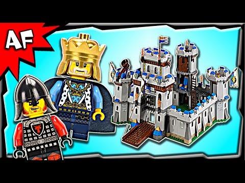 Lego Castle KING'S CASTLE 70404 Stop Motion Build Review