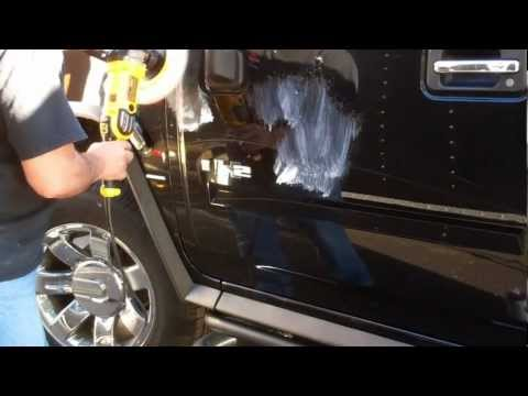 Buffing Out Scratches in Automotive Paint