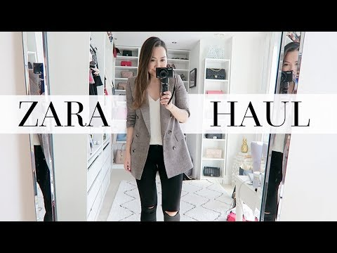 ZARA TRANSITIONAL HAUL & NEW BAG UNBOXING!