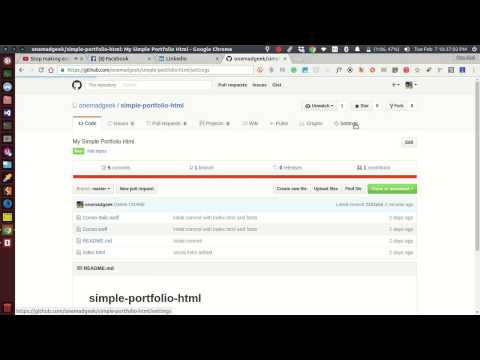 How To Deploy simple html on github pages FREE!!!