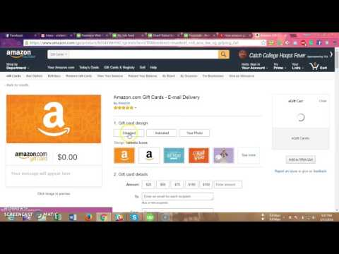 How to buy amazon gift card