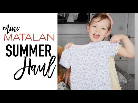 MATALAN MINI HAUL | Girls Summer Clothing Haul