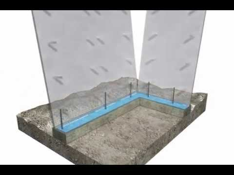 How To Animation: Poured Foundation Wall and Insulated Slab