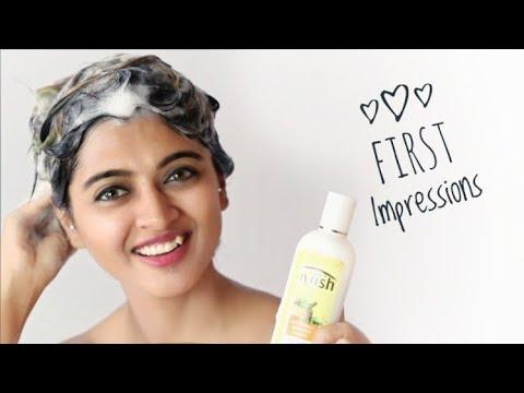 First Impressions _ Lever Ayush Anti Hairfall Bhringaraj Shampoo Review