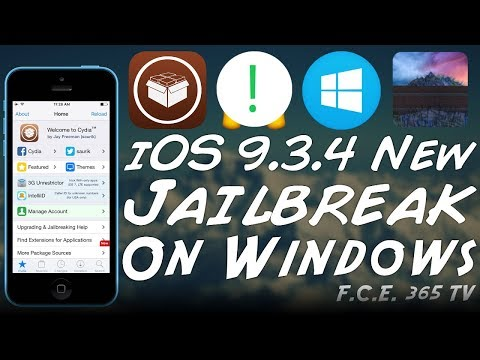 How to Jailbreak iPhone 5/4S/5C on WINDOWS (iOS 9.3.4 or lower)
