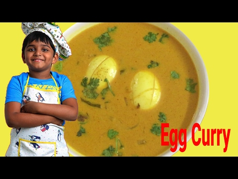 How To Make Simple Egg Curry with Coconut Milk | with gravy