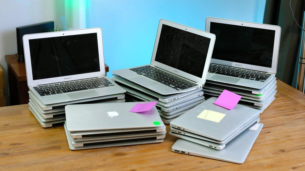 I Got 29 FREE Macbook Airs! Can I Restore Them?