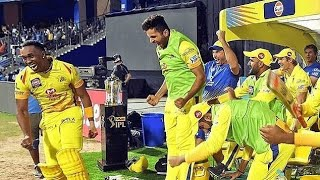 CSK bravo celebration after IPL 1st match | CSK vs MI 2018 | IPL 2018