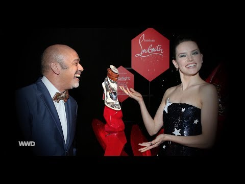 Christian Louboutin on Designing Shoes for